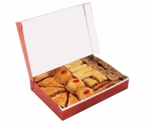 box with various types baklava